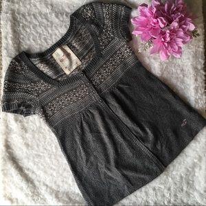 Hollister Short sleeve Cardigan Size M
